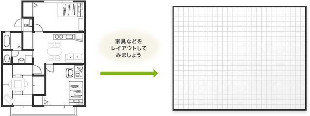 家具レイアウト図